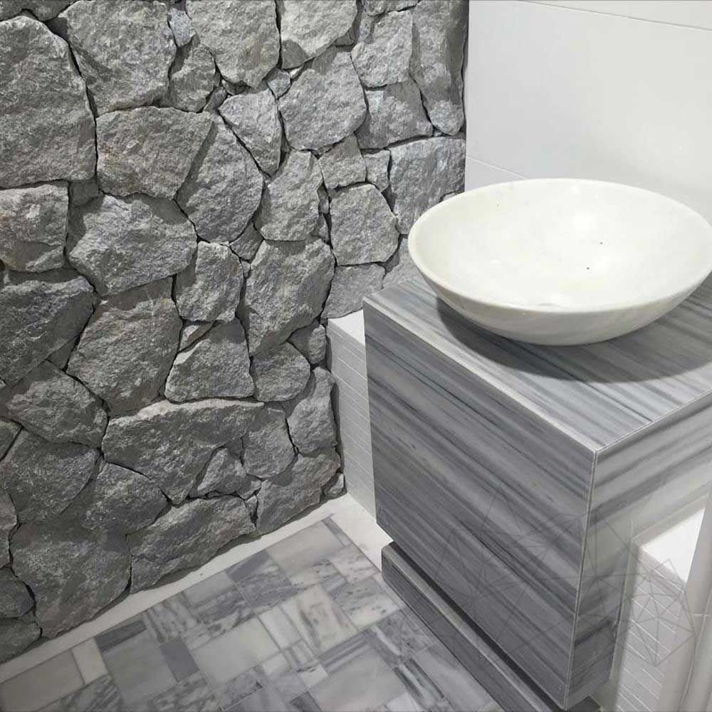 Polygonalplatten Marmor Rock Face Dias